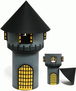 box halloween haunted tower por Nilmara Quintela