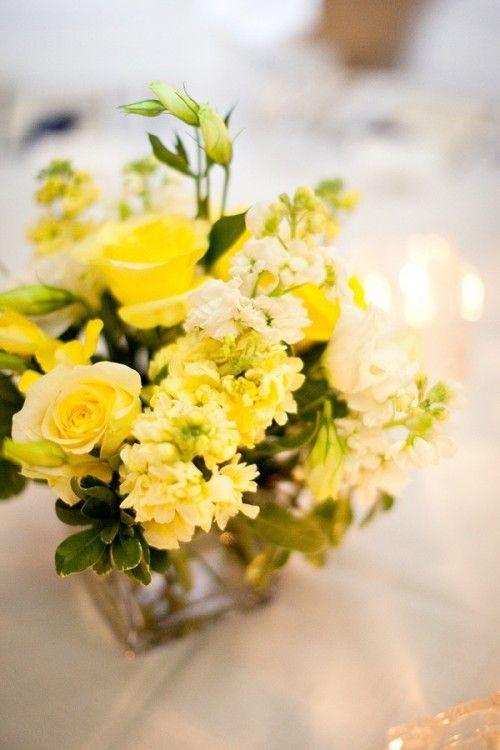 yellow+wedding+centerpiece+ideas | yellow-centerpieces-wedding-ideas-2 - Elizabeth Anne Designs: The ...