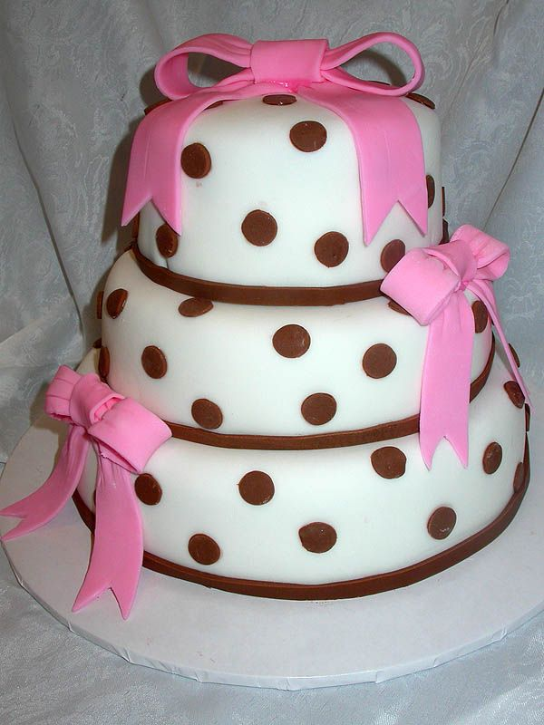cakes | Baked To Perfection Rolled Fondant Cakes
