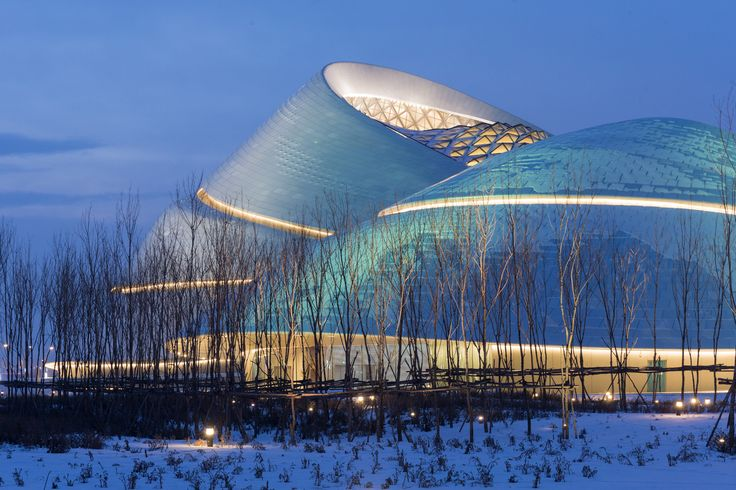 Gallery of Iwan Baan's Photographs of the Harbin Opera House in Winter - 5