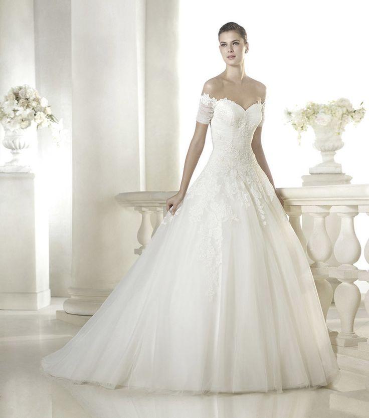 Rochie de Mireasa Stil Printesa Princess Wedding Dress #mireasa2015 #bride2015