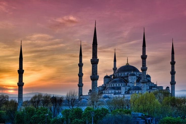The Blue Mosque (Called Sultanahmet Camii in Turkish) is an historical mosque in Istanbul.