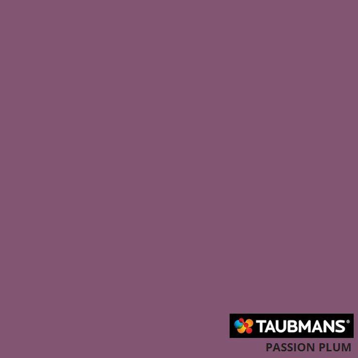 #Taubmanscolour #passionplum