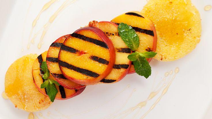 Mozzarella and Nectarine Stack-by Lauren Gulyas