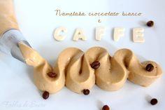 Namelaka cioccolato bianco e caffè, di una semplicità disarmante la sua realizzazione ma di una incredibile bontà, vellutata al palato e dal gusto intenso.
