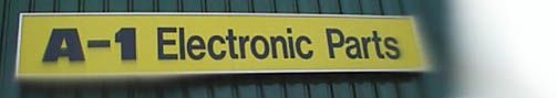 A1 Electronic Parts - Serving the Toronto area for 30 years!