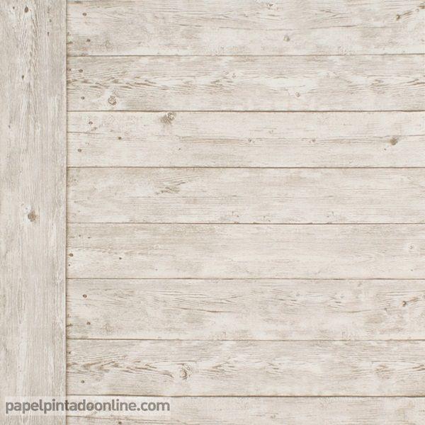 papel pintado metaphore mte imitacin armario antiguo de madera con listones colocados de manera horizontal y