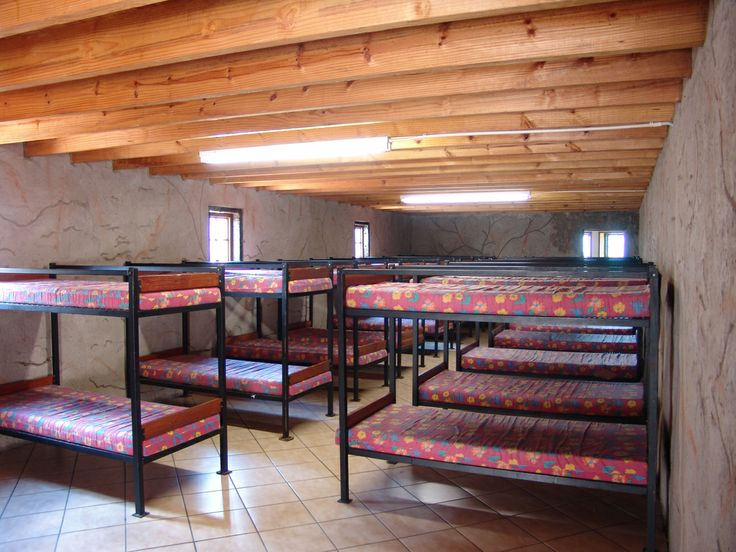 Dormitory accommodation at Madidaba Game and Conference lodge.