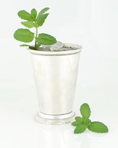 Mint Juleps. The perfect solution for a garden overrun by some sweet sassy mint