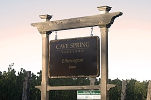 Cave Spring Winery-makers of awesome wines-my favorite is their Indian Summer Late Harvest Riesling-to die for!