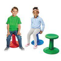 """Wobble Chair - Green- 14"""""""