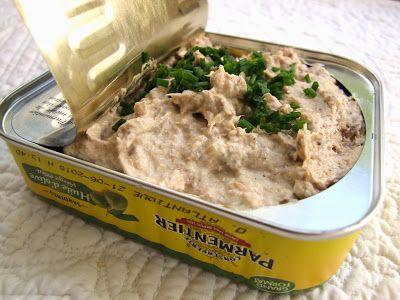 RILLETTES DE SARDINES AU CITRON - Une idée sympathique pour manger des sardines autrement.