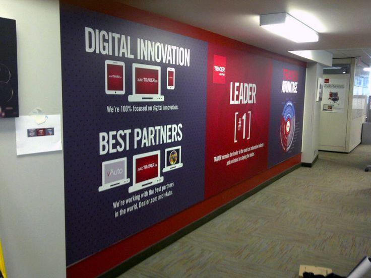 trader corporation wall mural | Agency design ideas ...