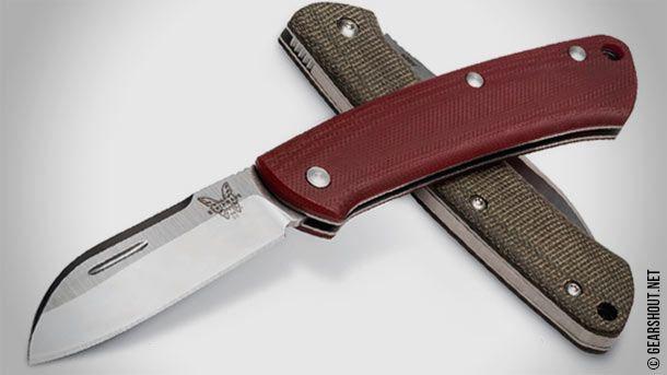 Benchmade выпустила серию безопасных ножей для повседневного использования