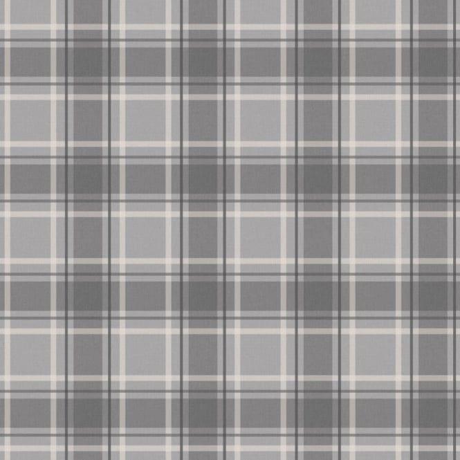 I Love Wallpaper™ Tartan Wallpaper Soft Grey / Charcoal (ILW980026)  code:ILW980026 $20 roll, need 3 rolls