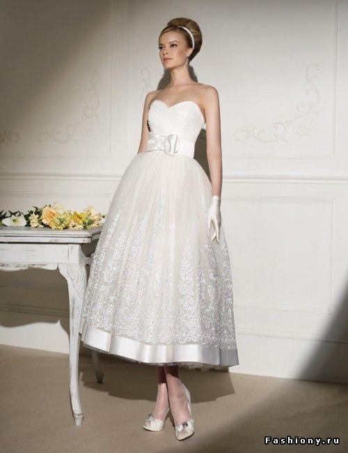 Свадебные платья в стиле ретро - очарование прошлых эпох