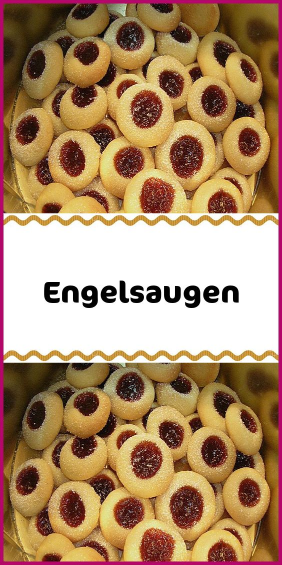 Augen eines Engels   – Kuchen & Torten Rezepte