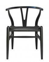 Replica Hans Wenger Wishbone Chair – Black