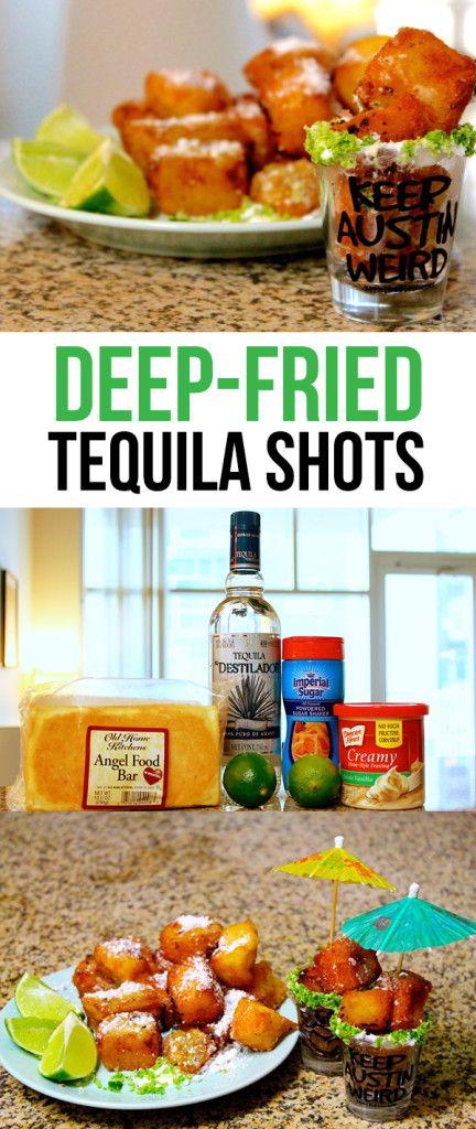 How to Make Deep Fried Tequila Shots