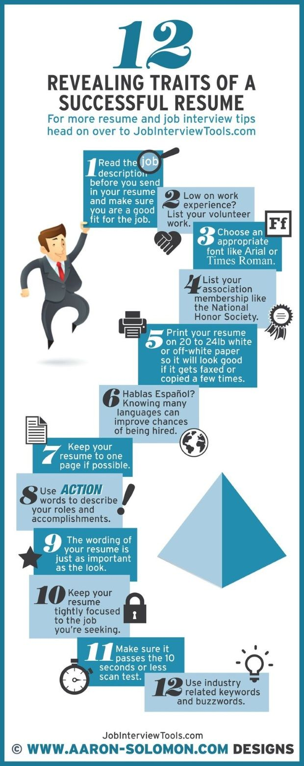 Great Awesome 12 Traits Of A Highly Successful #Resume