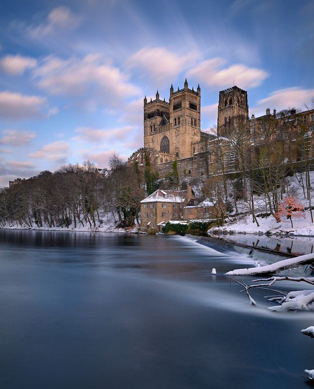 Durham Cathedral from the River Wear, Durham, England
