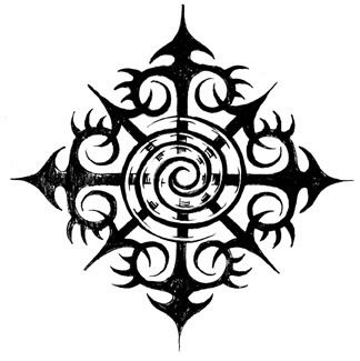 a symbol for chaos the best looking one i could find tattoos pinterest the o 39 jays a. Black Bedroom Furniture Sets. Home Design Ideas