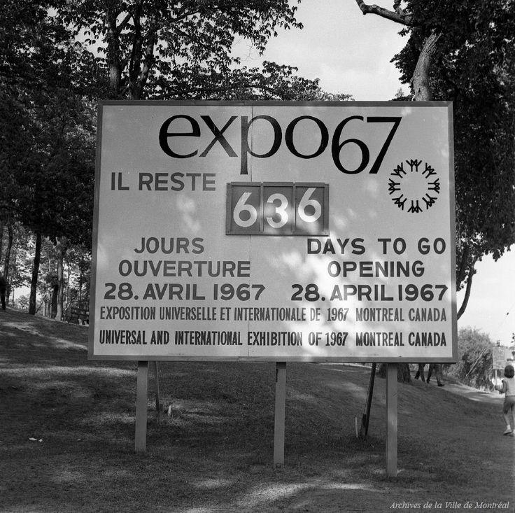 Chronique Montréalité no 50 : Expo 67 (première partie)
