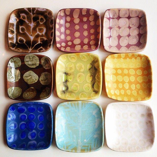 """""""Ruutu"""" Plates in Ravintola Rulla www.kolumbus.fi/saritak www.rulla.fi"""