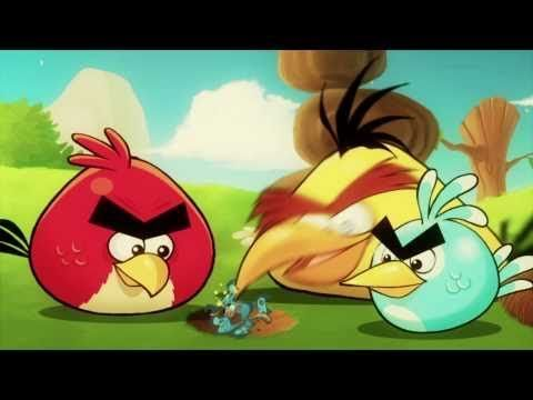 Another good clip to promote a lot of conversation skills.   You can have the students make comparisons to the Angry Birds and the Three Little Pigs if you pay close attention to the buildings they bomb.  It goes well with Jenna Rayburn's Angry Bird lesson.