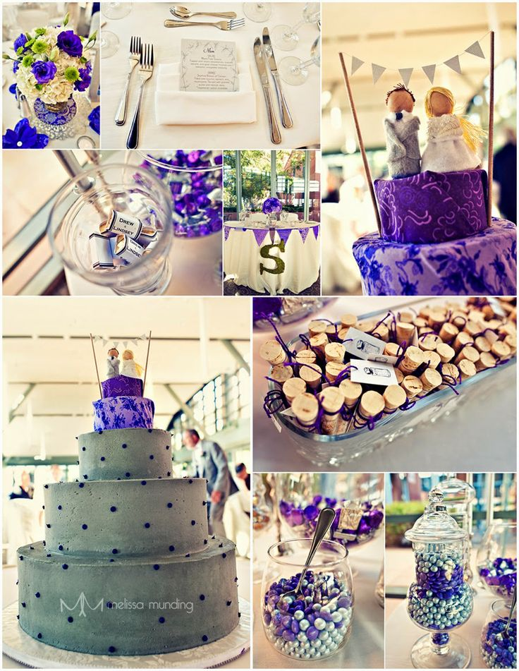 Purple Wedding Decoration The Best Ways To Use As Theme Of Your