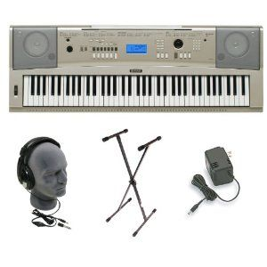 Yamaha YPG-235, $250. The biggest thing I'd like for my birthday is a keyboard--I haven't played the piano in several years and I really miss it! I want to pick it back up before I forget everything. This is supposed to be the best keyboard for the price--it's normally $650.