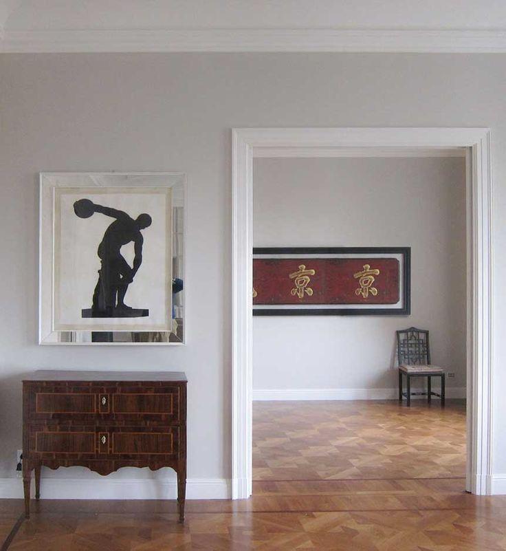 Luxury penthouse Milan - A warm welcome - Dotti Interior Decoration