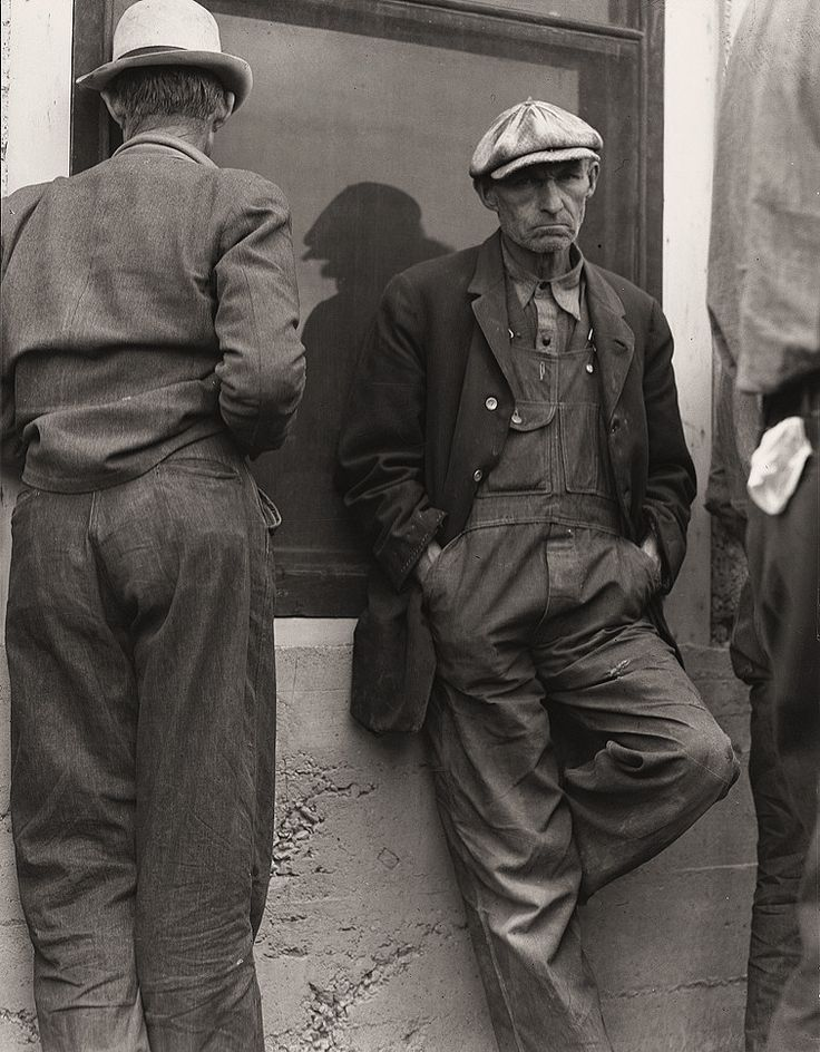 Dorothea Lange / ドロシア・ラング The History Place - Dorothea Lange Photo Gallery: Little Money: Waiting for the Relief Checks