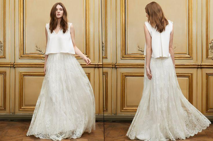 Gli abiti da sposa 2015 di Delphine Manivet