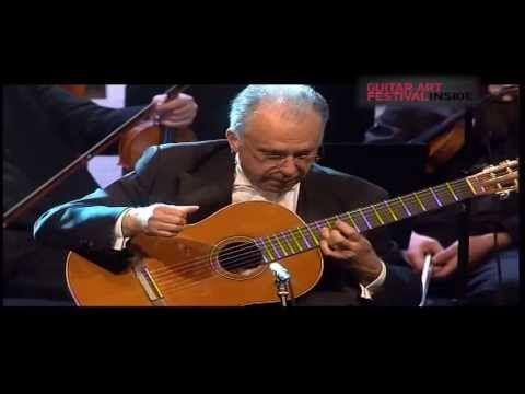 Pepe Romero: Concierto de Aranjuez ( Joaquin Rodrigo), Recuerdos de la Alhambra ( Francisco Tarrega) - YouTube