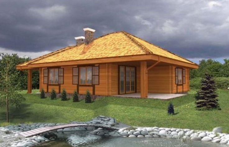 Projekt domu PK2 K-100D - DOM KS1-07 - gotowy projekt domu