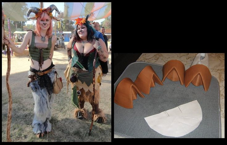 Satyr Hooves and Ears by TrapperMitch | Crafts/DIY ...