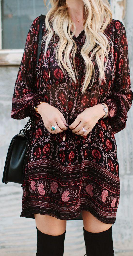 ☮ American Hippie Bohéme Boho Style ☮ Love this dress!!