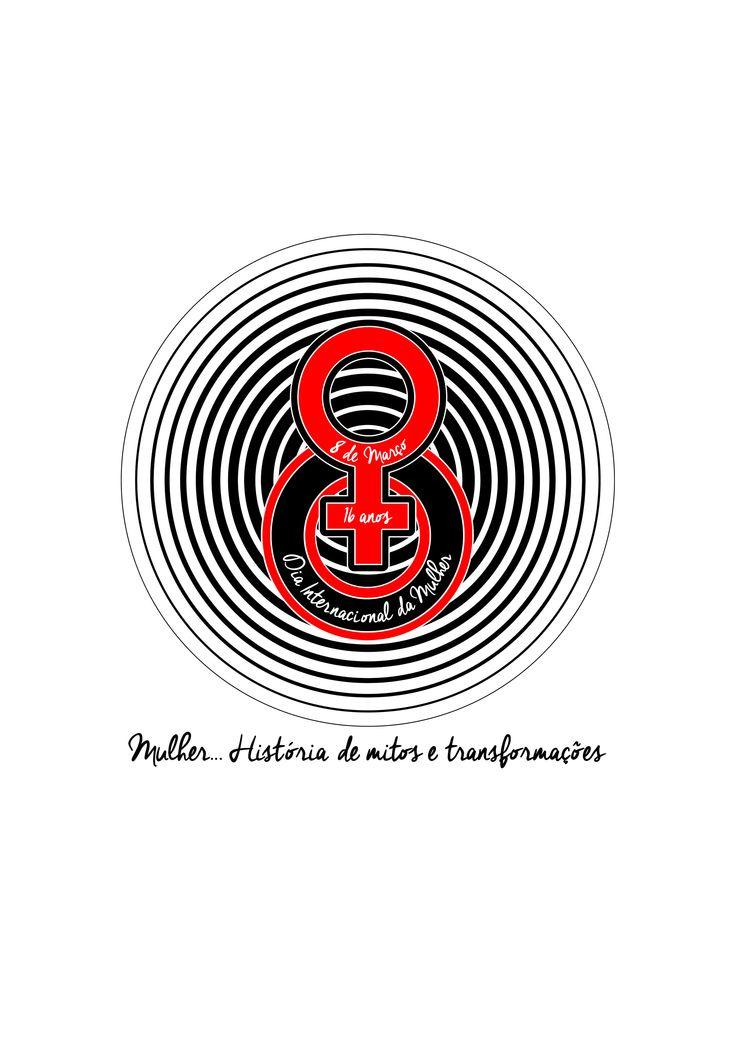 Logotipo Campanha Dia Internacional da Mulher - Loja Alba