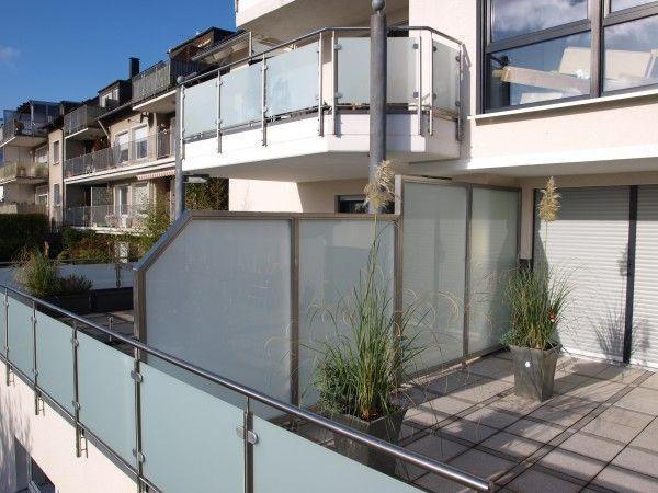 Sichtschutz für Balkon, Terrasse & Garten – Sichtschutz-Zaun, Windschutz, Wind …