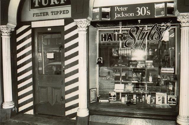 North Melbourne barber shop