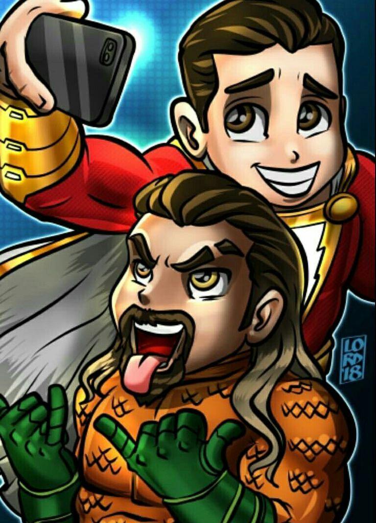 Shazam Aquaman Get New Magazine Covers: Aquaman E Shazam: A Salvação Da DC #LordMesa