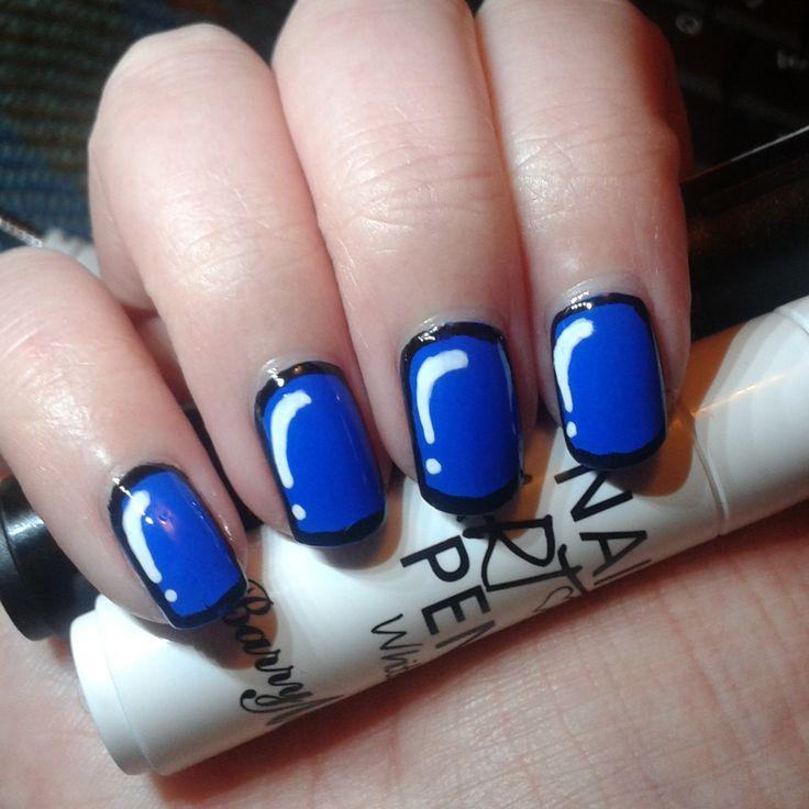 Pop art nails!