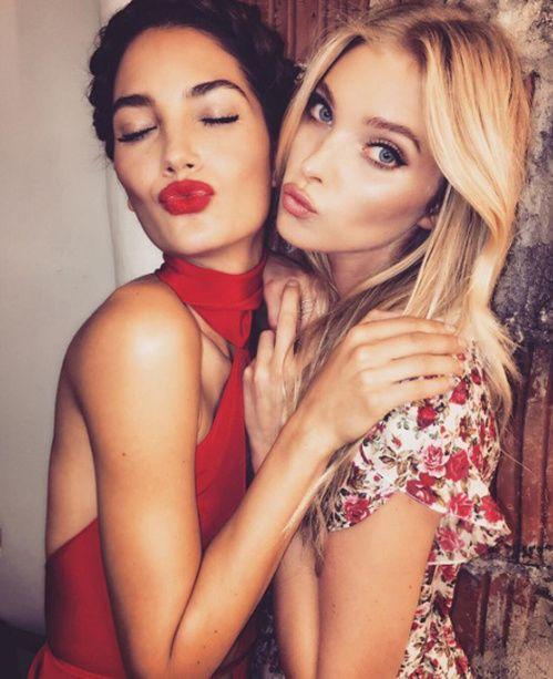 L'amitié et tres forte et tres belle une blonde a toujours besoin de sa brune ❤