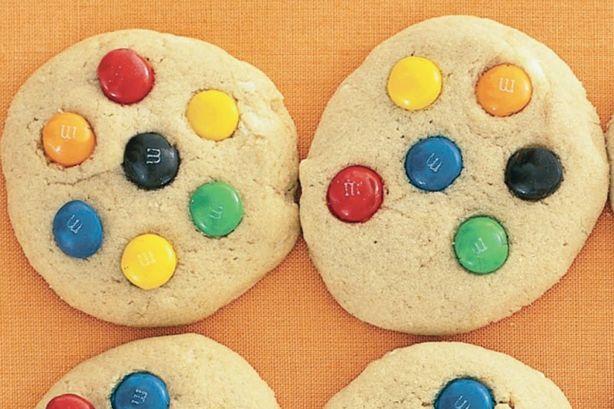 M&M's cookies #food #dishes #cookies