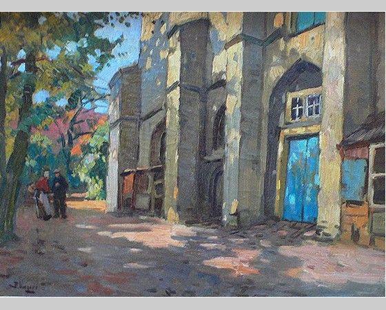 Pin van Jeroen op Schilderijen | Abstract landschap ...