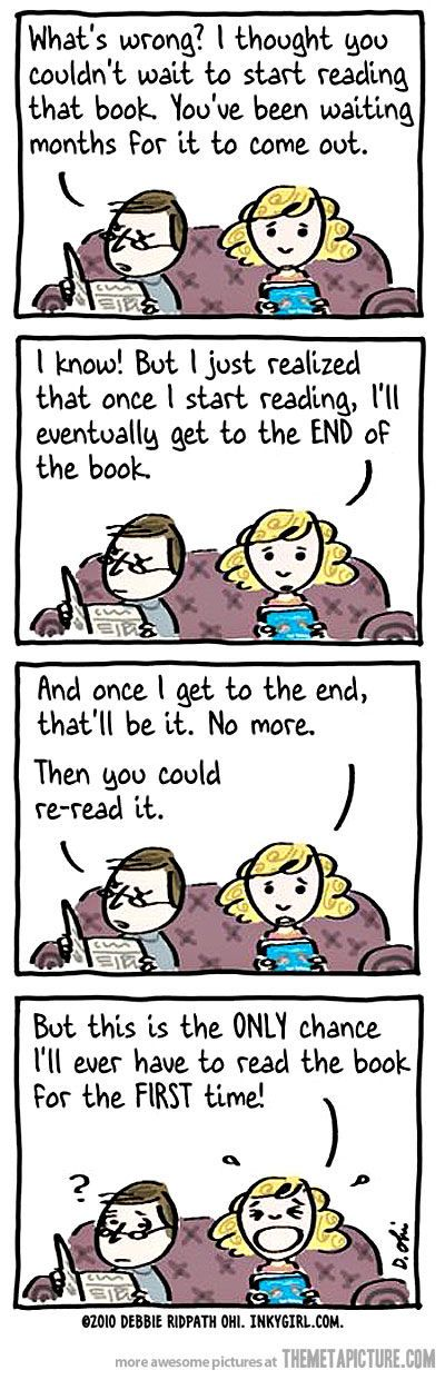 Hahahah I so sigh when I finish bc Idk what to do with my free time or how to move on to a new good.book lol