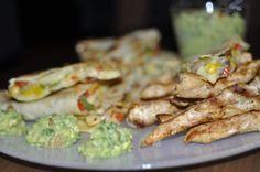 Alina's Cuisine » Mexican night: Quesadilla cu legume si piept de pui