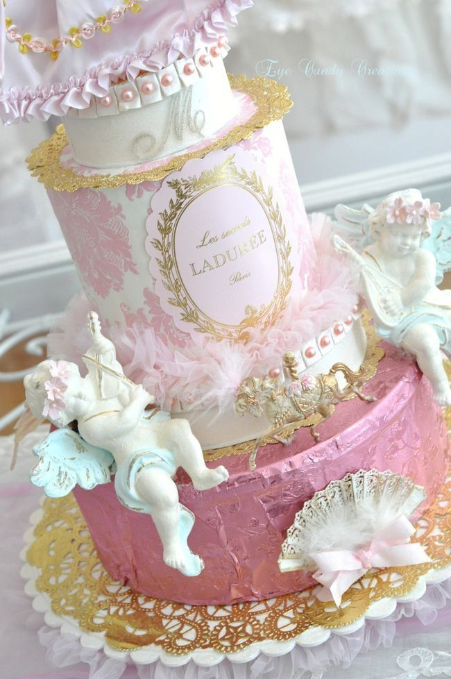Laduree PASTEL ROMANTIC VINTAGE UMMMH DELISH,,,,**+