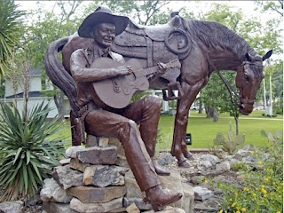 TEX RITTER - Texas Country Music Hall of Fame - Carthage, Texas.